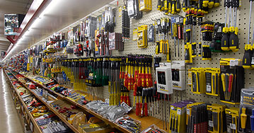Come and see our ´100m Tool Wall´