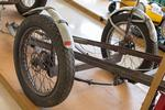 Burt Munro´s original motorcycle trailer